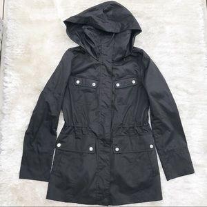 CALVIN KLEIN Black Utility Jacket